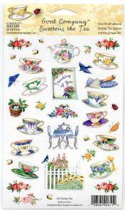 シール Garden Tea 【アメリカ製】 ステッカー アシッドフリー