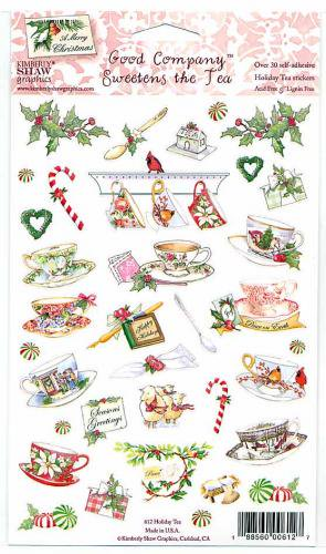 シール Holiday Tea 【アメリカ製】 ステッカー アシッドフリー