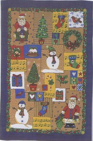 クリスマスティータオルChristmasWrap ULSTER WEAVER