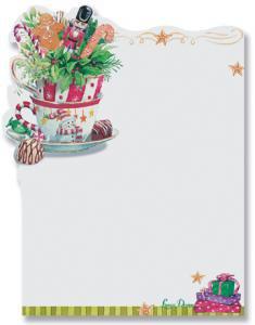 ポストイットカード【輸入文房具】クリスマスティータイム LissomDisign