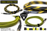 ●SPREAD SOUND オリジナル メッシュチューブケーブル Bumble bee / Construction #2524