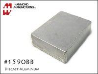Hammond ハモンド 1590BB アルミダイキャスト エフェクターケース
