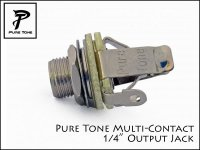 Pure Tone Multi-Contact Output Jack