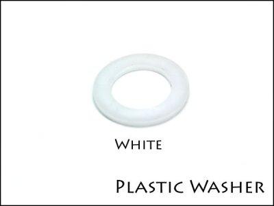 プラスティック ワッシャ−ナット フットスイッチ 白、黒