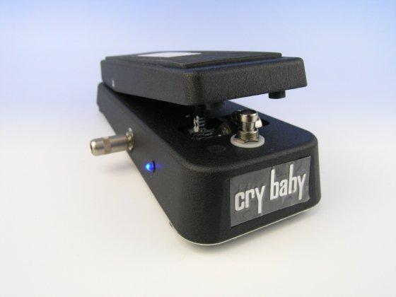 ワウ LED増設 VOX Crybaby