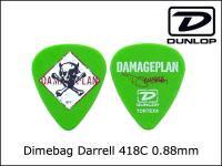 Jim Dunlop / 418C 0.88 DIMEBAG DARRELモデル アーティストモデル Pick ピック