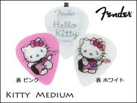 Fender 351 Hello Kitty White/Pink setキティピック