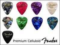 Fender USA プレミアムセルロイドピック Premium Celluloid Pick