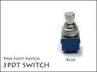 3PDT Footswitch / トゥル−バイパス用