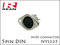 Neutrik REANノイトリック NYS325 5pin MIDI DIN ジャック