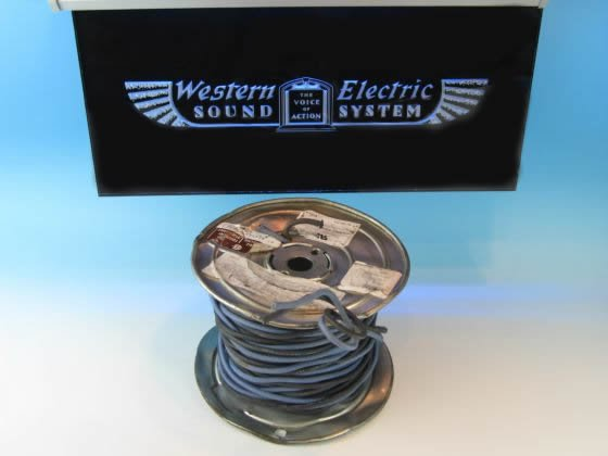 Western Electric #12GA Twin Cable 切り売り ウェスタンエレクトリック