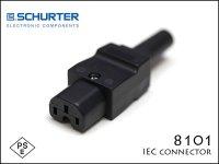 SCHURTER /   8101 IEC コネクター ACインレット