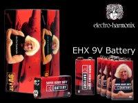 Electro-Harmonix EHX 9V Battery Vintage Style エレハモ 9V電池