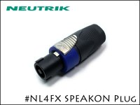 Neutrik / NL4FX ノイトリック 4芯 スピコン ケーブルコネクター メス