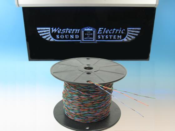 Western Electric 26GA 緑/橙/青 3本 切り売り 1m〜