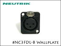 Neutrik / NC3FDL-B ノイトリック レセプタクルコネクター