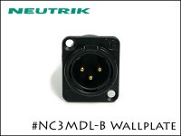 Neutrik / NC3MDL-B ノイトリック レセプタクルコネクター