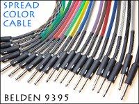 ●ネオンカラー ケーブル SPREAD NEON COLOR BELDEN ベルデン #9395