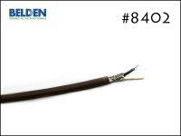 BELDEN ベルデン #8402 2芯シールド ケーブル 切り売り 1m〜