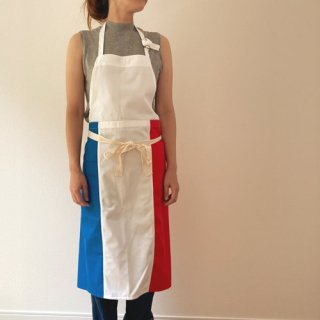 胸当て付 トリコロール エプロン 国旗 フレンチ イタリアン 2種