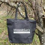 ロゴ入りオリジナルエコバッグ【Moon&Suns】