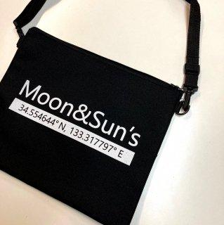 ロゴ入りオリジナル2WAYサコッシュ【Moon&Suns】