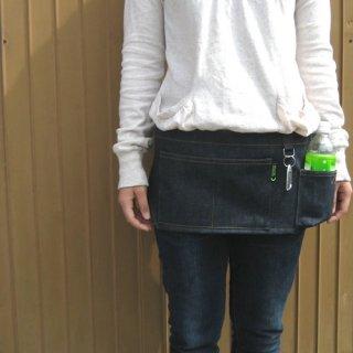 ウエストバッグ型エプロン【お散歩や美容院でも】エプロンバッグ サコッシュ