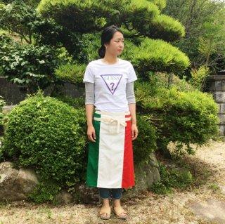 トリコロールエプロン【国旗】イタリアン フレンチ