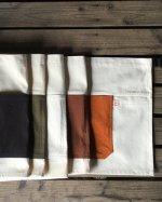 【帆布】ワークエプロン(ツートンカラー)【全5色】