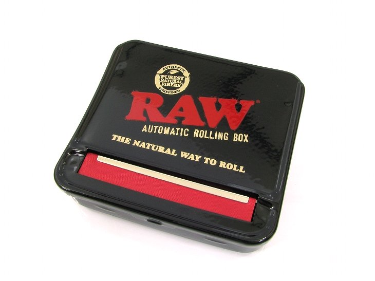 RAW® AUTOMATIC ROLLING BOXColor:BLACK   Size:70mm- RAW®  -