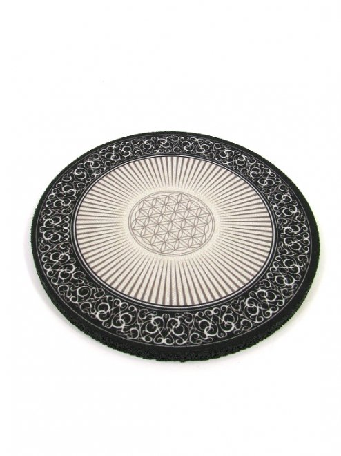 ROUND FABRIC TOP Color:FLOWER OF LIFE   Size:13cm- DabPadz™ -