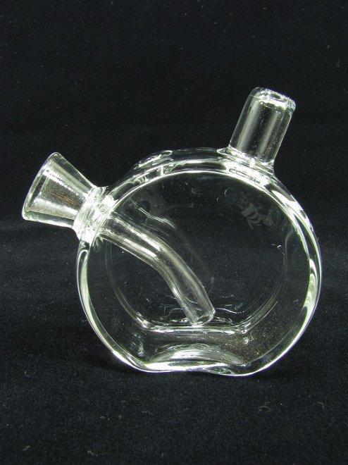 Pulsar® FISH BOWL BLUNT/CONE BUBBLERミニ水パイプColor:CLEAR Size:全長60mm - Pulsar®…