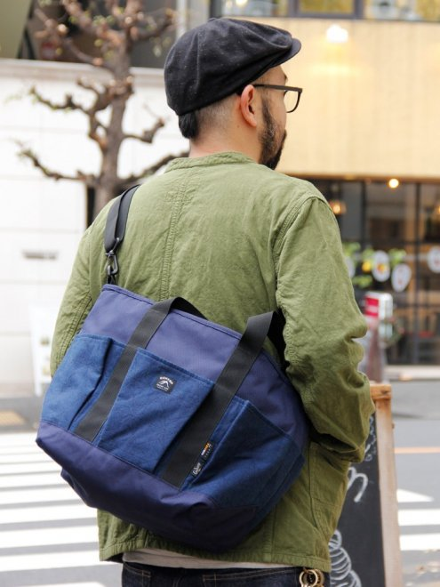 "ASAGARA 2WAY TOTE BAG""麻柄""..."