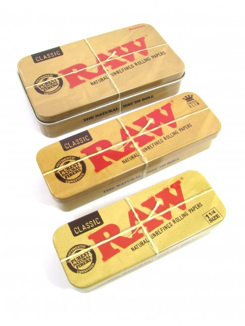 RAW® METAL TIN CASEペーパーケ...
