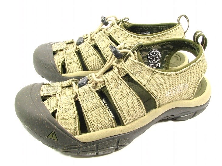 【MEN'S】NEWPORT RETROColor:HEMP/DARK OLIVE Size:US:7.5/8/9/9.5/10- KEEN -