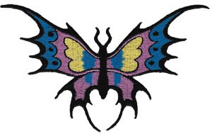 BUTTERFLY ワッペン- USA PATCH -