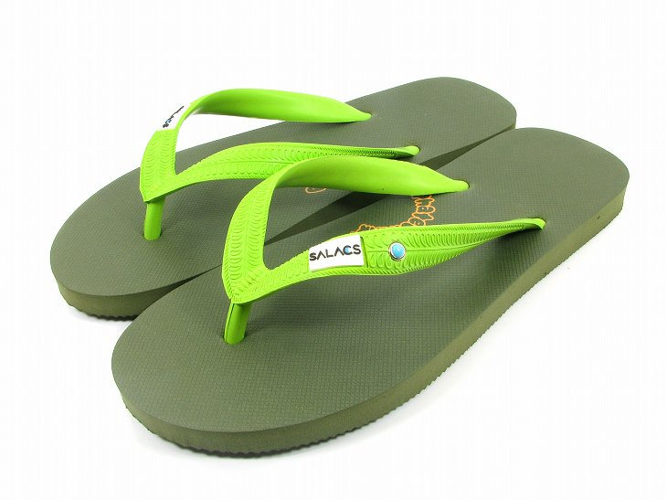 【SALE20%OFF】BEACH SANDAL天然ゴムColor:OLIVE Size:S- Phatee -