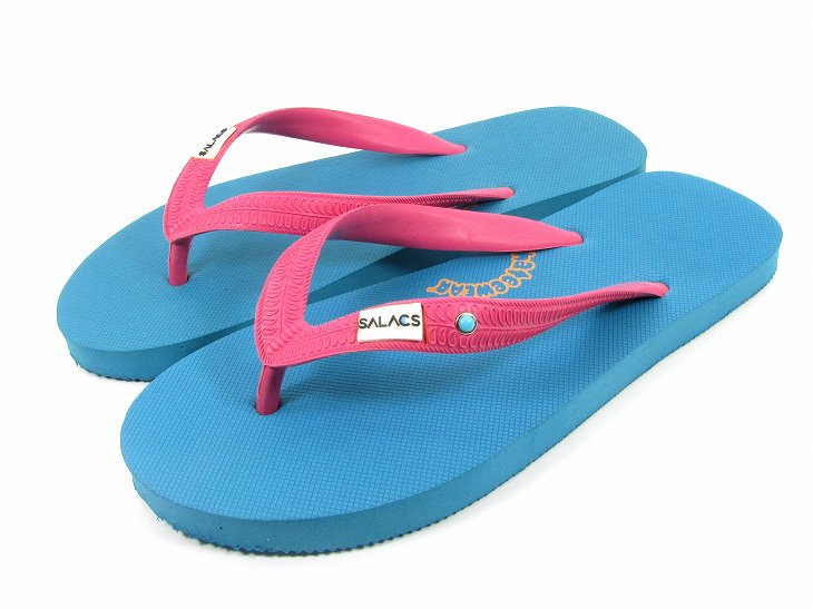 【SALE20%OFF】BEACH SANDAL天然ゴムColor:TURQUIOSE Size:M- Phatee -