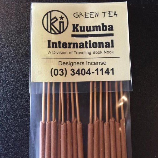 【Kuumba】クンバ 『GREEN TEA』レギュラーサイズ