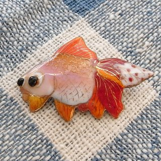 ブローチ 金魚(B)