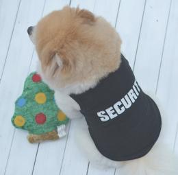 ペット チョッキ SECURITY 警備犬★愛犬 ハロウィン 犬洋服 セキュリティー【新品★未使用品】