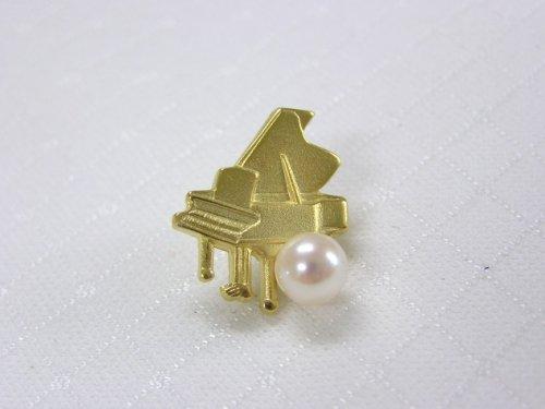 ピアノブローチ(A)あこや真珠