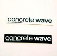 ◆CONCRETE WAVE ステッカー