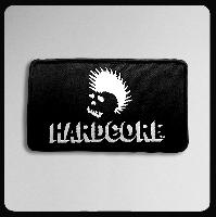 ◆woven ワッペン'HARD CORE` 中サイズ