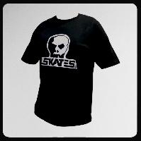 ◆SKULL SKATES SILVER SURFER シルバープリント Tシャツ
