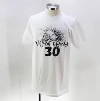 ◆VIOLENT GRIND/バイオレントグラインド 30th Tシャツ(ホワイト)