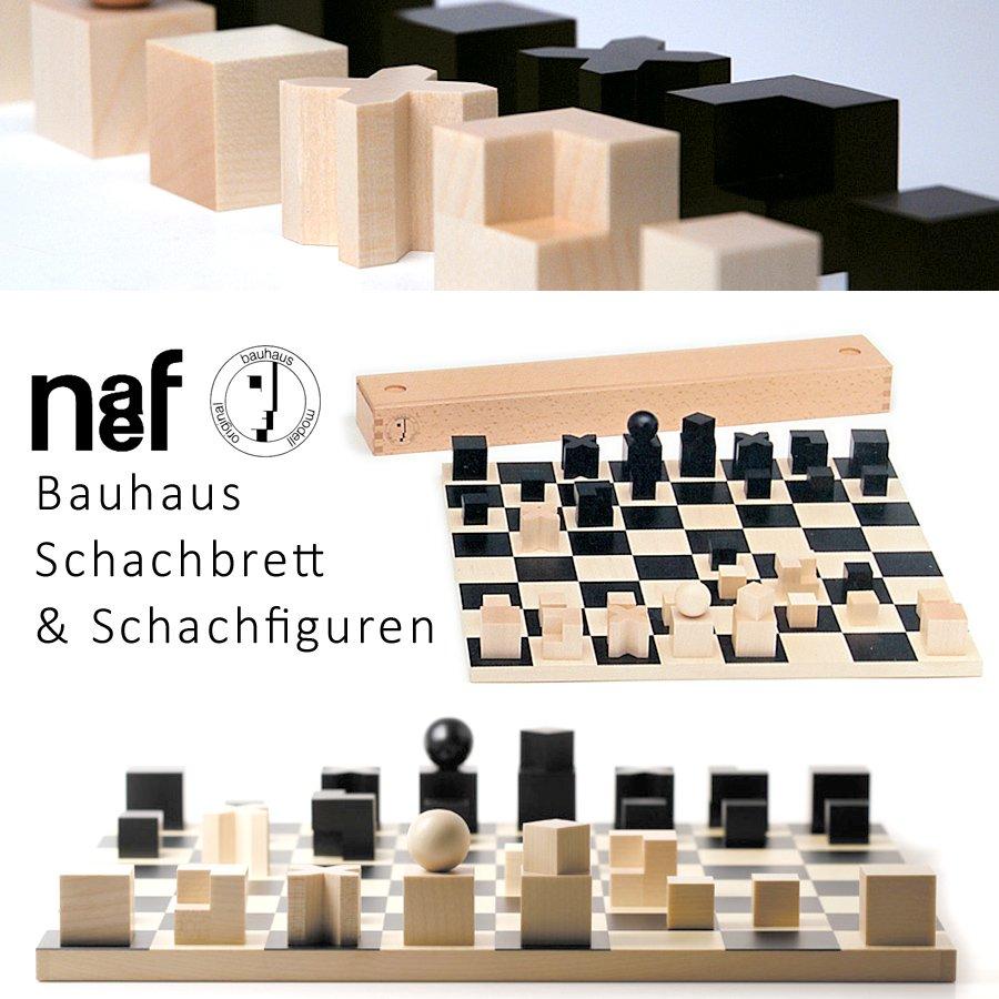 [Naef ネフ社]バウハウス チェスゴマ Bauhaus Schachfiguren