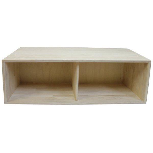 [木遊舎]収納BOX 90cm low パイン