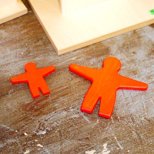 【メール便可】[Beck ベック社]ジャンボはしご人形用 人形