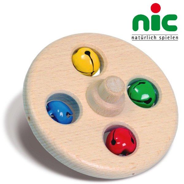 [nic ニック社]ニックスロープ用 鈴つき円盤